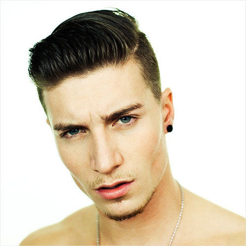 Mens Haircuts Mens short black hairstyle Mens very short hairstyle
