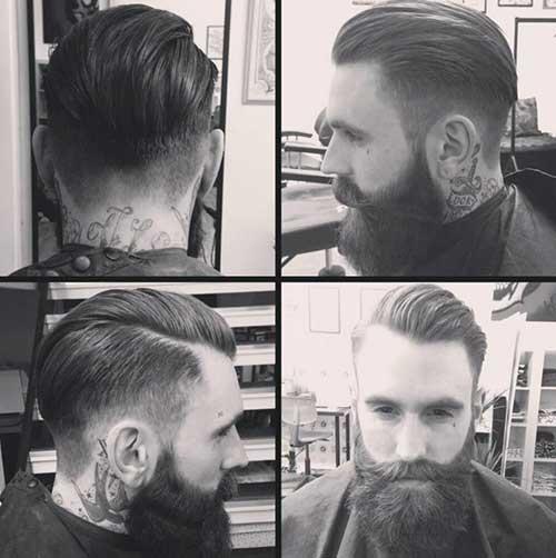 Mens rockabilly haircut