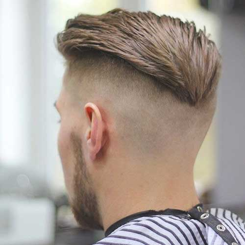 Mens haircut short back and sides